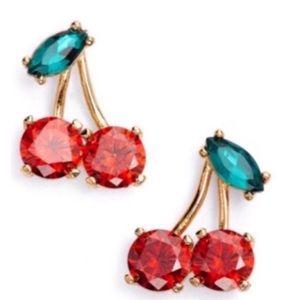 kate spade Jewelry - 🛍Brand new Cherry Kate Spade Earrings